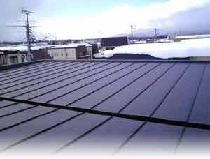 屋根融雪イメージ