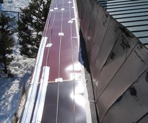 軒先屋根融雪イメージ